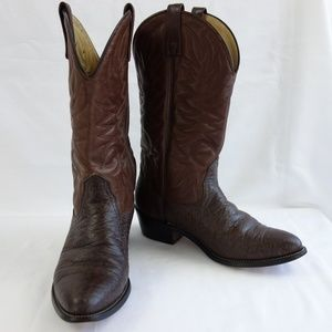 Other - Leather Western Cowboy Boots Made in USA